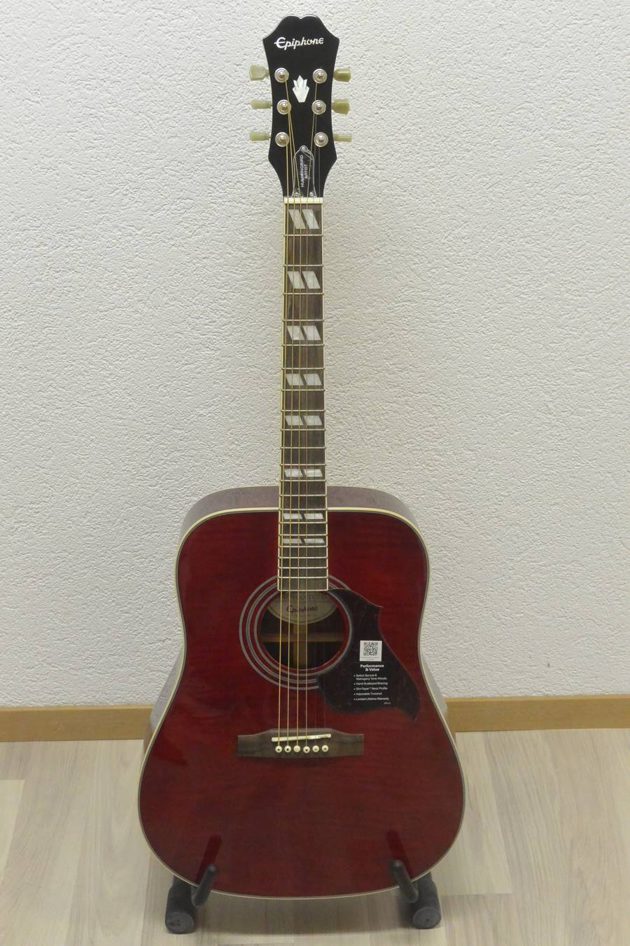 guitare acoustique epiphone Hummingird frs 430.00