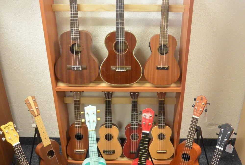 Grand choix de ukulele