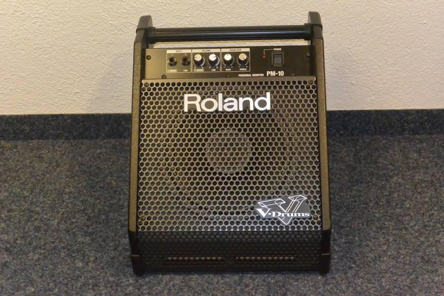 ampli batterie Roland PM10